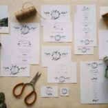 Toute la collection Cuty Calligraphy
