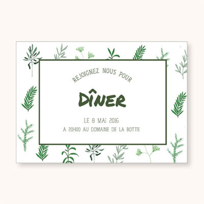 Coupon diner Simply Botanic Recto