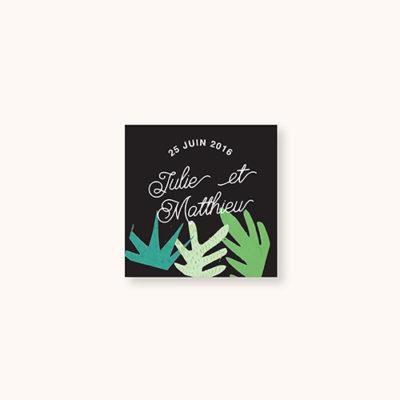 Stickers à personnaliser Gatsby's Jungle