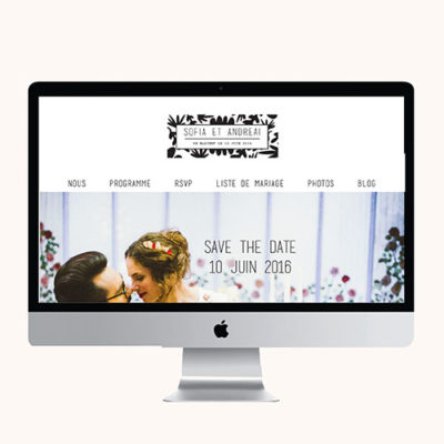 Site mariage Happy Colors
