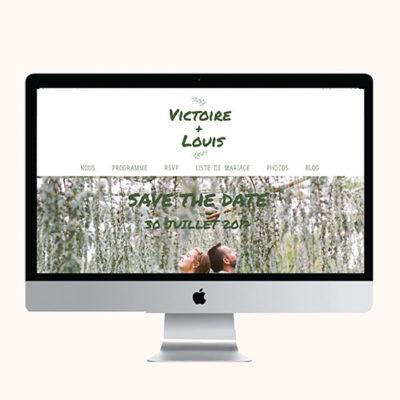 Site mariage Simply Botanic